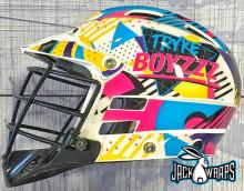90s Lacrosse Helmet Wrap