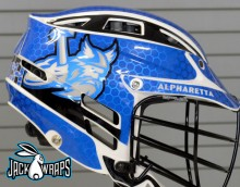 Alpharetta Crunch Chrome Lax Wrap