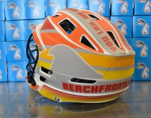 Beachfront Lax Helmet Wrap