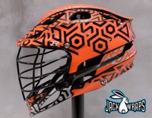 Blaze Orange Lacrosse Wrap