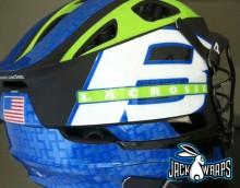 boost lacrosse helmet wrap