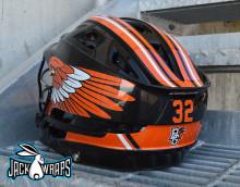 Bowling Green Lacrosse Helmet Decals