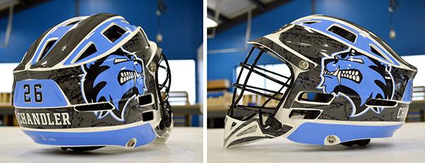 Chandler Lacrosse Helmet Wraps