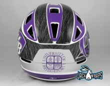 Chrome Helmet Decals