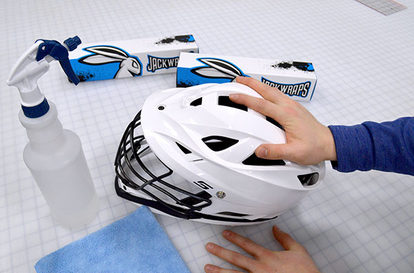 Cleaning a Lacrosse Helmet