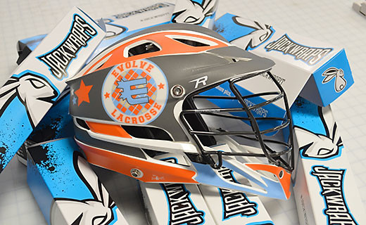 Lacrosse Helmet Decals Get A Free Proof Quote - Lacrosse helmet decals