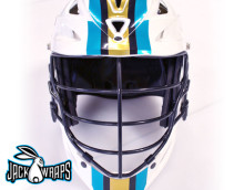 Football Stripe Lacrosse Decals