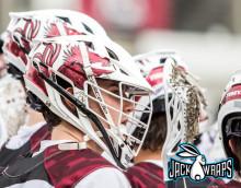 Gamecocks Lacrosse Helmet Decals