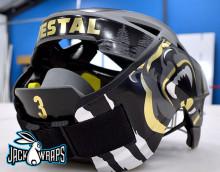 Girls Lacrosse Helmet Wrap