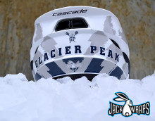 glacier peak lacrosse helmet wrap