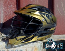 Gold Chrome Head Wrapz
