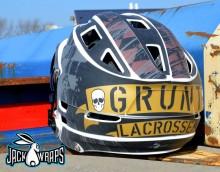 grunt lacrosse helmet wrapz
