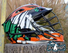 Indian Feather Lacrosse Wrap