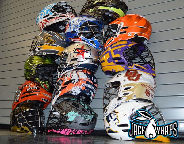 Lacrosse Helmet Gallery   JackWraps