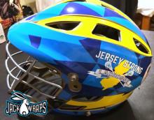 jersey strong lacrosse helmet wrap