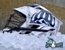Lacrosse Helmet Decal Wrap