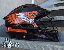Lacrosse Helmet Wing Decals
