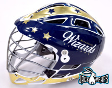 lacrosse team helmet wrap