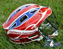 Limitless Lacrosse Helmet Wrapz