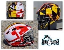 Maryland Pride Lacrosse Helmet Wrap