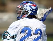 Patriots Lacrosse Helmet Wrap
