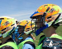 SOGO Lacrosse Helmet Wraps