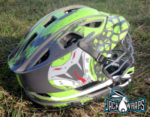 team lacrosse helmet decals
