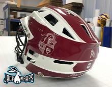 Transylvania Lacrosse Helmet Wrap