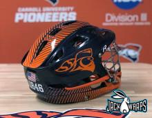 University Lacrosse Helmet Decals