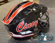 university of cincinnati lacrosse helmet