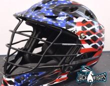 American Flag Helmet Wrap