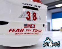 Arkansas Razorback Lacrosse Helmets