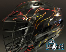 Black Flame Lacrosse Wrap