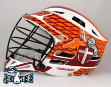 Brother Rice Lacrosse Helmet