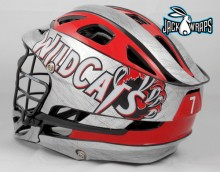Chrome Helmet Wrap