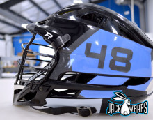 decal wrap for lacrosse