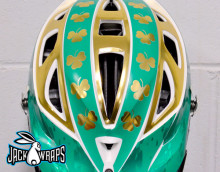 Fighting Irish Helmet Wrap