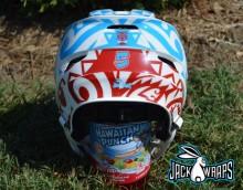 Hawaiian Lacrosse Helmet Wrap