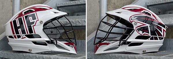 Henry Ford Lacrosse Helmet Wraps