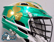 Irish Lacrosse Helmet Wrap