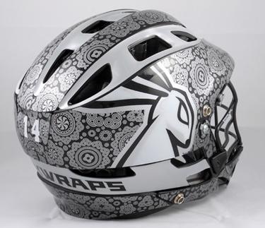 Introducing Jackwraps Custom Lacrosse Helmet Wraps