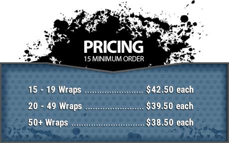 JackWraps Pricing