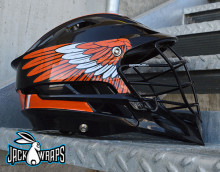 Lacrosse Helmet Wing Decals