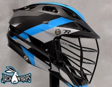 Lax Helmet Decal
