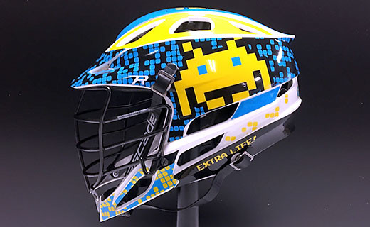 High Point Lacrosse >> Lacrosse Helmet Wraps | Get Your Free Quote!