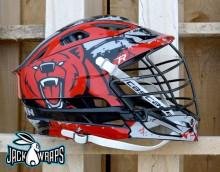 New Bern Lacrosse Helmet Wrapz