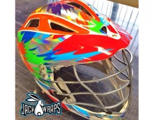 Rainbow Chrome Lacrosse Wrap