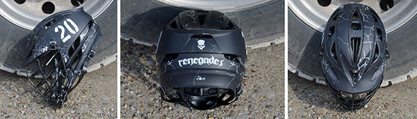 Renegades Lacrosse Helmet Wraps