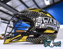 Swarm Lacrosse Helmet Wrap