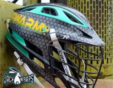 Swarm Lacrosse Helmet Wrapz